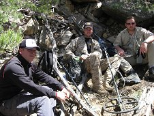 Glorieta Expeditions - Mike Farmer, Greg Hupe and Jim Strope.