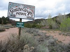 Glorieta Expeditions - Scenic Apache Canyon.