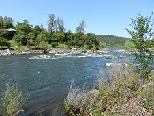 Sutter's Mill Expedition - American River, site of Sutter's Mill.