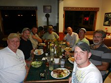 Sutter's Mill Expedition - Frank, Greg Hupe, Mike Farmer, Jack, Robert, Jerry, Karl and Mike.