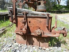 Sutter's Mill Expedition - Abandoned mining machinery.