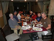 Sutter's Mill Expedition - Hungry group of hunters after a long day.