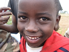 Thika, Kenya Expedition - One of the many local kids who seem to appear from nowhere when we arrived.