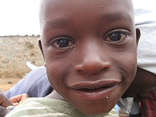 Thika, Kenya Expedition - Every kid popped their head into the car window to say hello.