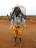 Thika, Kenya Expedition - Hard work for even the youngest Kenyans.